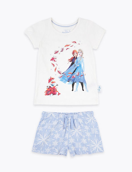 Disney Frozen™ 2 Sequin Shortie Pyjamas (2-10 Yrs)