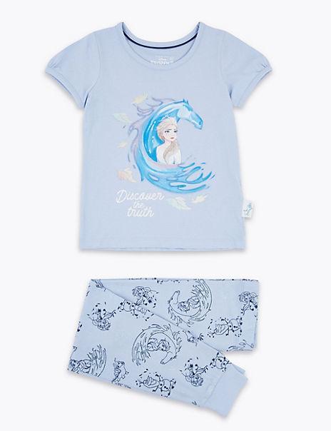 Cotton Frozen™ 2 Glitter Print Pyjamas (2-10 Yrs)