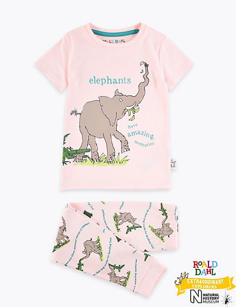 Roald Dahl™ & NHM™ Elephant Pyjamas (1-7 Years)