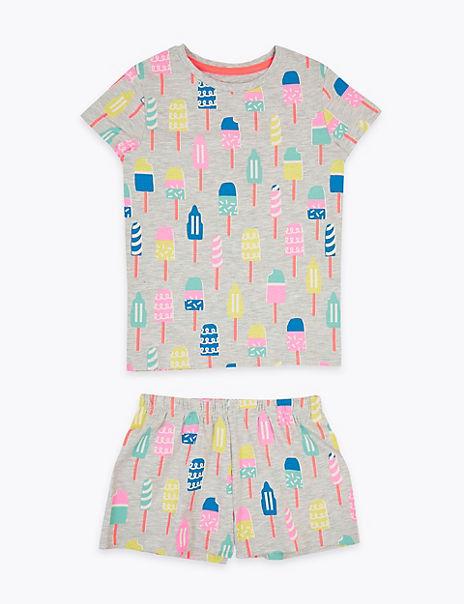 Cotton Rich Lolly Short Pyjama Set (1-7 Years)