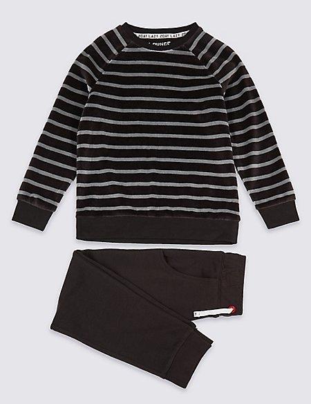 Lounge Striped Pyjamas (3-16 Years)