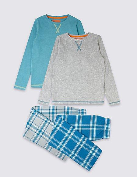 2 Pack Pyjamas (3-16 Years)