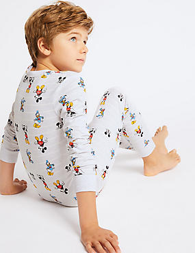 Mickey Mouse™ Pyjamas with Stretch (1-16 Years), GREY MIX, catlanding