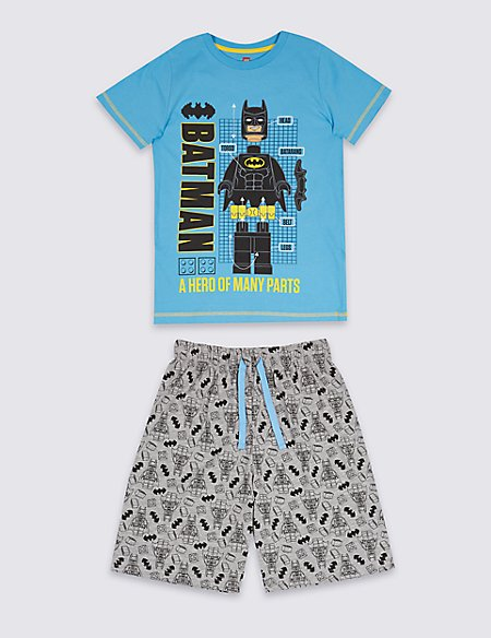 Batman™ Printed Short Pyjamas (3-10 Years)