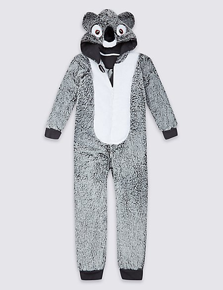 Koala Fleece Onesie (1-16 Years)