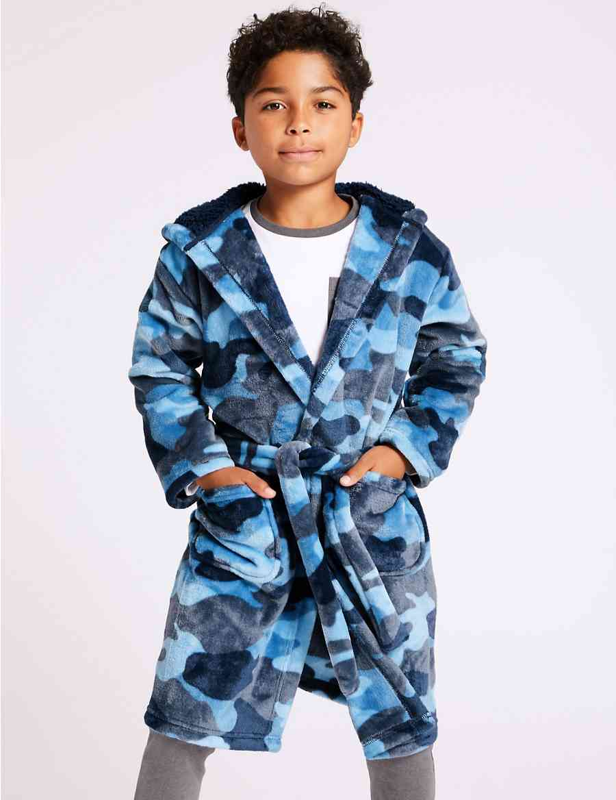 a9023bb847 Camouflage Hooded Dressing Gown (1-16 Years)