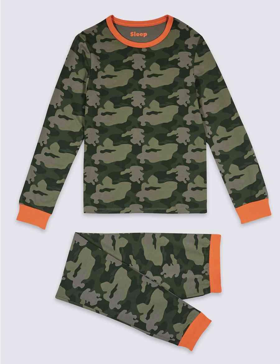 716172fc2 Printed Pyjamas with Stretch (1-16 Years)