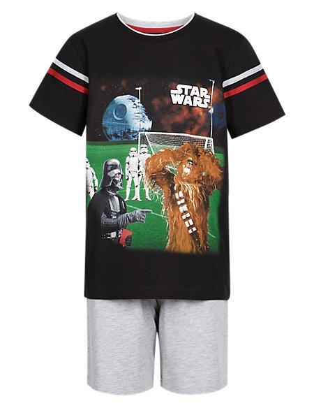 Star Wars™ Short Pyjamas (5-14 Years)