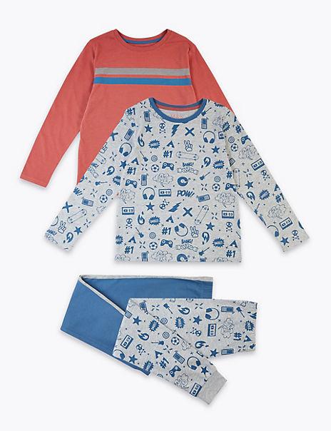2 Pack Gaming Pyjama Set (3-16 Years)