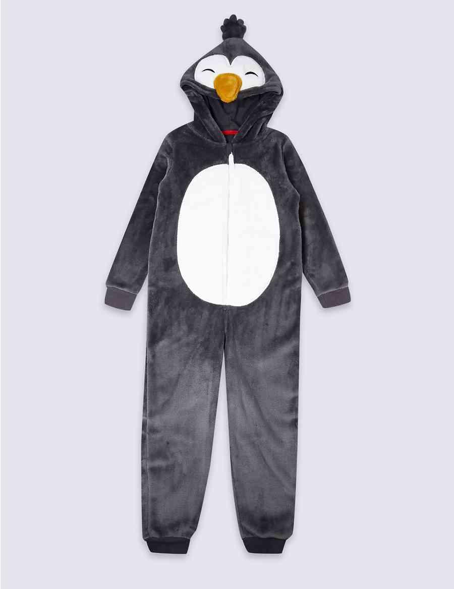 7536c71c42cc Hooded Penguin Onesie (1-16 Years)