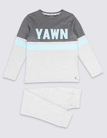 Cotton Rich Lounge Pyjamas (3-16 Years)