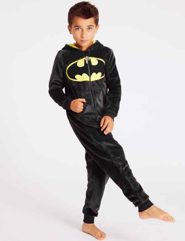 Batman™ Hooded Onesie (3-16 Years) f6462e80c