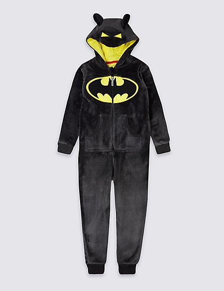 Batman™ Hooded Onesie (3-16 Years)