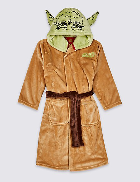 Star Wars™ Hooded Dressing Gown (5-16 Years) | M&S
