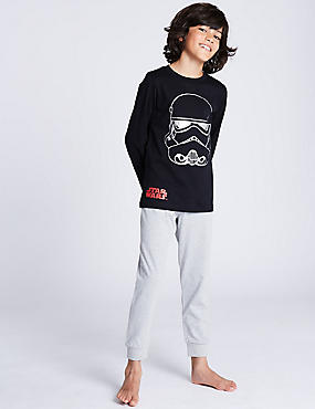 Star Wars™ Pure Cotton Pyjamas (5-14 Years)