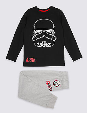 Star Wars™ Pure Cotton Pyjamas (5-14 Years)
