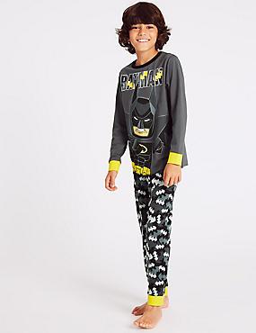 Batman™ Pyjamas (3-11 Years), BLACK MIX, catlanding