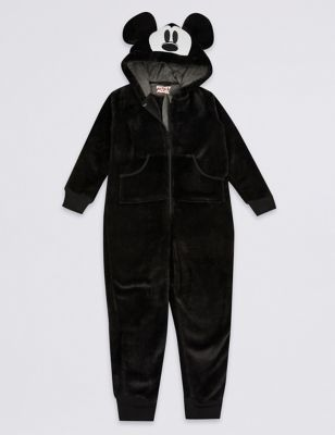 46c14941fc3a Mickey Mouse™ Hooded Onesie (1-16 Years) | M&S