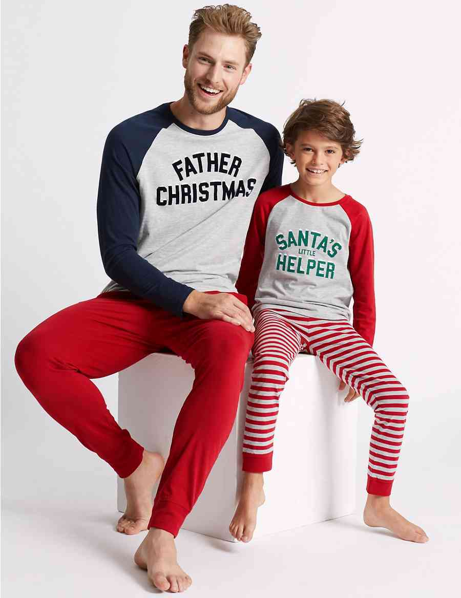3cf6068db3 Santa Mini Me Pyjamas (1-16 Years)