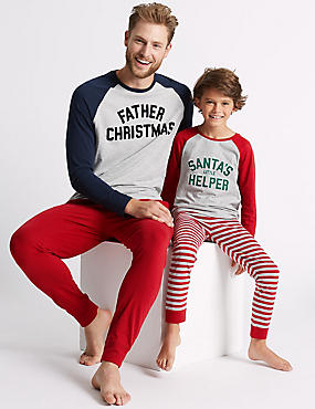 Santa Mini Me Pyjamas (1-16 Years)
