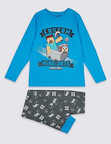 Minecraft™ Pyjamas (3-16 Years)