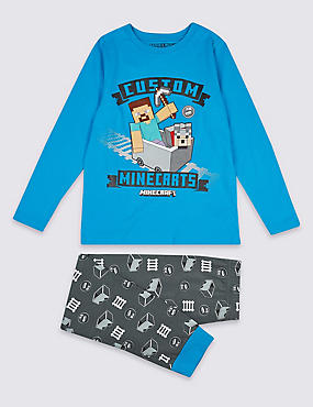 Minecraft™ Pyjamas (3-16 Years)
