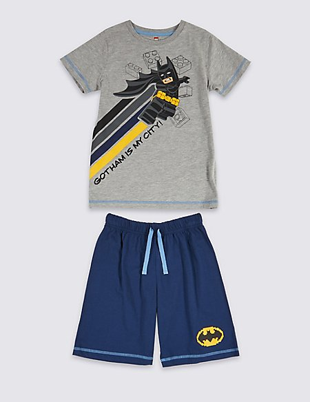 Lego Batman™ Short Pyjamas (3-11 Years)
