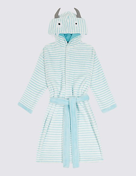 Monster Dressing Gown with Belt (1-8 Years)