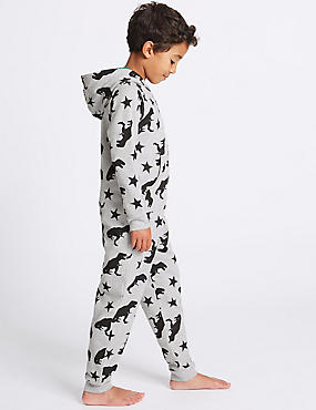Pure Cotton All Over Print Onesie (1-16 Years)