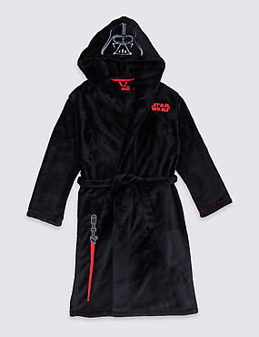 Star Wars™ Dressing Gown with Belt (5-16 Years)