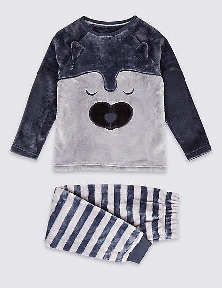 Fleece Pyjamas (1-16 Years)