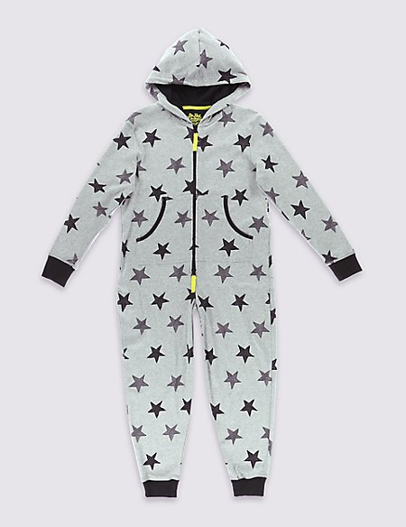 Star Print Onesie (6-16 years)