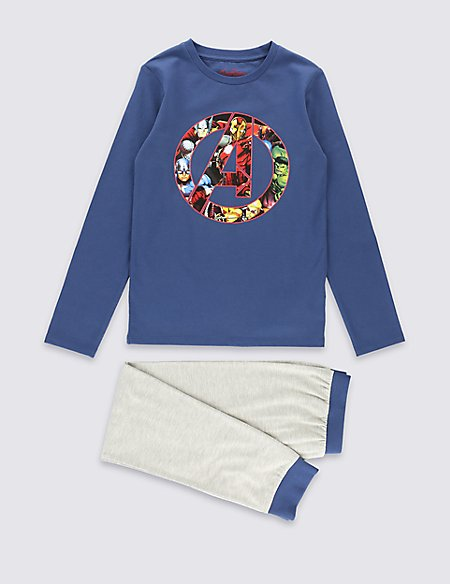 Cotton Rich Avengers™ Pyjamas (6-16 Years)