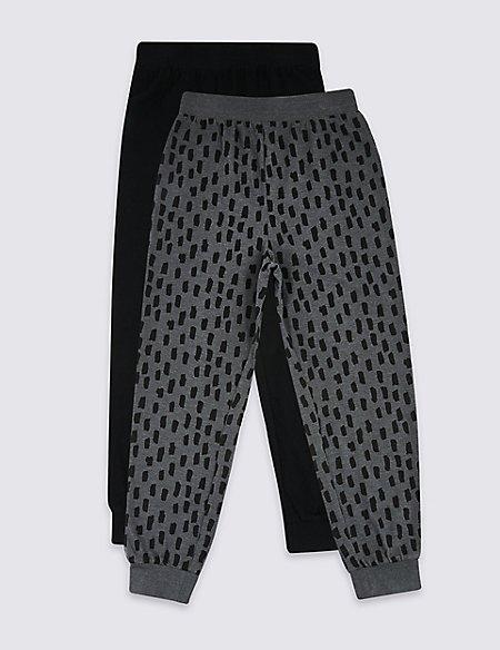 2 Pack Pyjamas Bottom (3-16 Years)