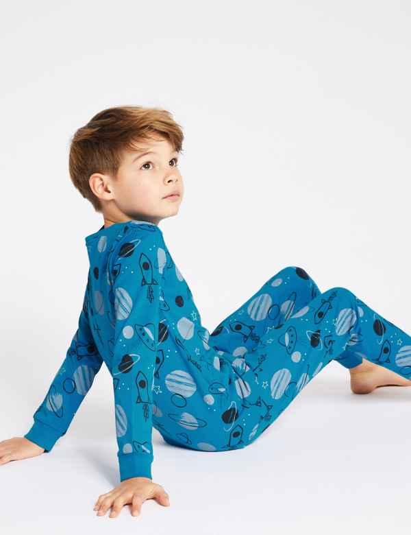 3a46ad7da4 Cotton Pyjamas with Stretch (3-16 Years)