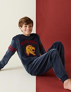 Βελουτέ πιτζάμες Harry Potter™ Gryffindor (2-16 ετών)
