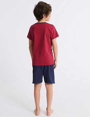 dfff53ef504 FC Barcelona™ Short Pyjamas (3-16 Years) | Pyjamas | Marks and ...
