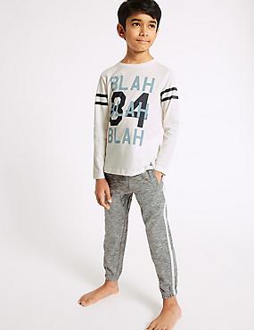 Lounge Pure Cotton Pyjamas (3-16 Years)