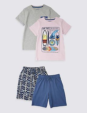94cf384187 Pack de 2 pijamas cortos de tablas de surf (3-16 nbsp ...