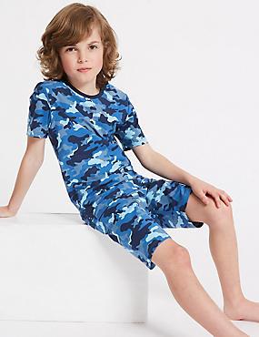 Cotton Pyjamas with Stretch (3-16 Years)