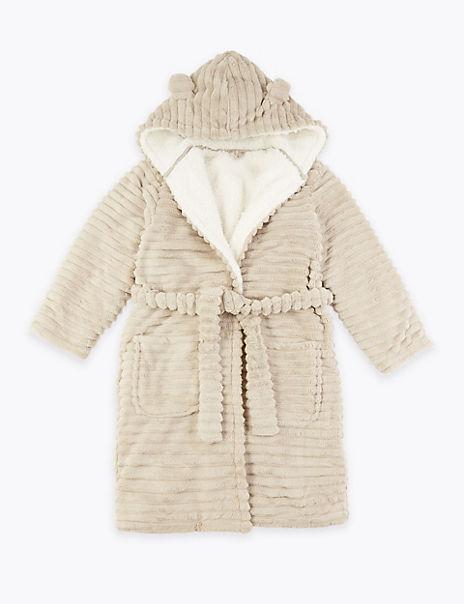 Fleece Bear Dressing Gown (1-16 Years)