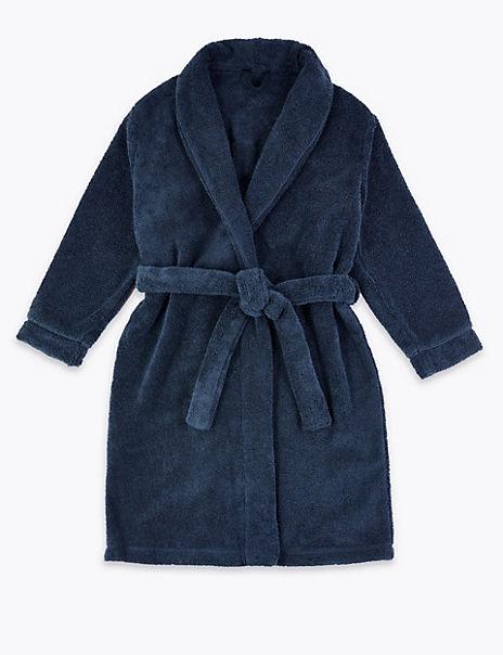 Cotton Towelling Bath Robe (1-16 Years)
