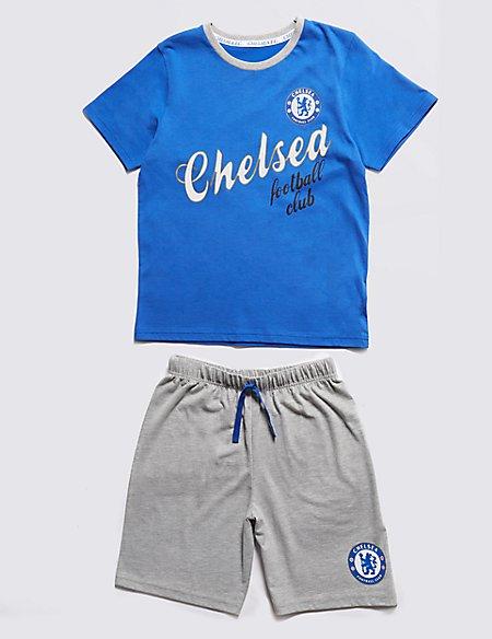 Chelsea Football Club Short Pyjamas (3-16 Years)