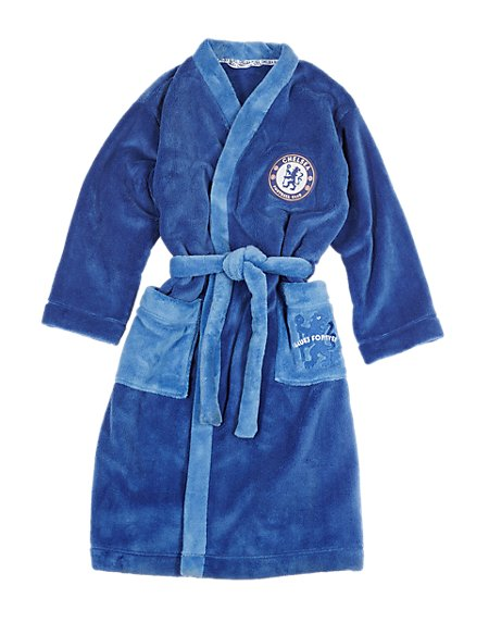 Chelsea Football Club Dressing Gown with StayNew™ (3-16 Years)