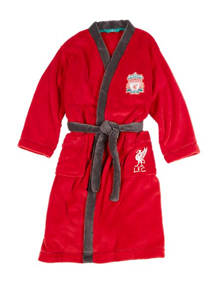 Liverpool F.C Dressing Gown with StayNEW™ (3-16 Years)  59a0402fd312