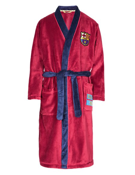 Barcelona F.C. Dressing Gown with StayNEW™ (3-16 Years)