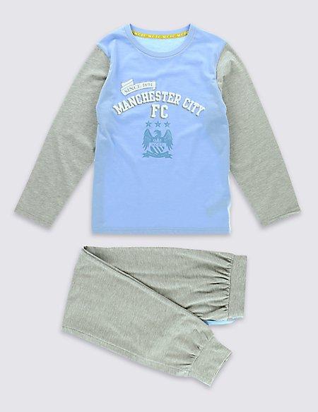 Man City Pyjamas (3-16 Years)