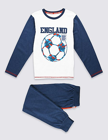 Pure Cotton England Pyjamas (3-16 Years)