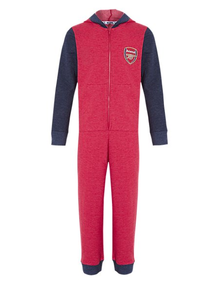 Cotton Rich Arsenal Football Club Sweat Onesie