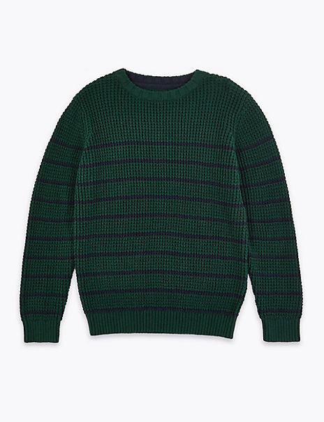 Cotton Striped Jumper (3-16 Years)
